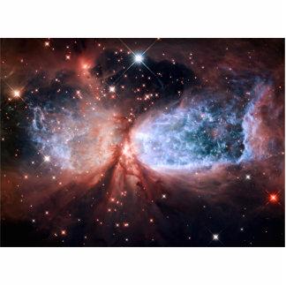 Sharpless 2-106 Nebula Stars Space Standing Photo Sculpture
