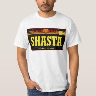 Shasta, Ca -- T-Shirt