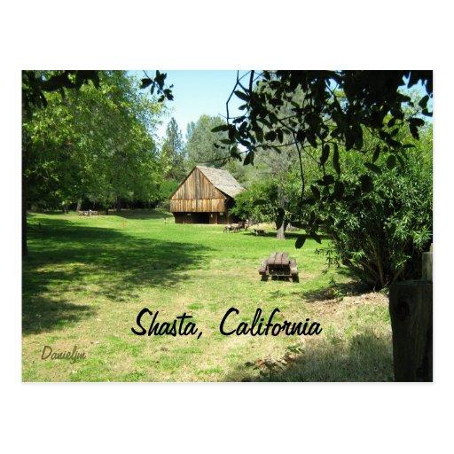 Shasta, California Postcard