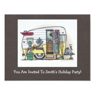 Shasta Camper Trailer RV Invitation