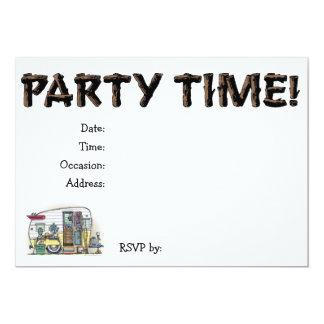 Shasta Camper Trailer RV Invite