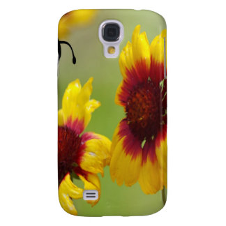 Shasta Daisies and Bee Galaxy S4 Covers