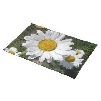 Shasta Daisies (Chrysanthemum maximum) Place Mats