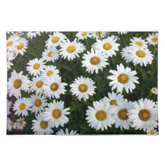 Shasta Daisies Placemat Cloth Place Mat