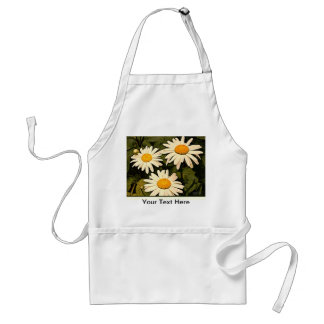 Shasta Daisy Flower Garden Apron Aprons