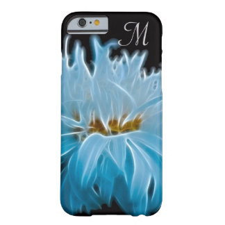 Shasta Daisy Flower Initial Barely There iPhone 6 Case