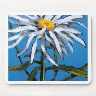 SHASTA DAISY FLOWER MOUSE PAD