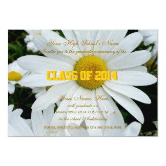 Shasta Daisy Graduation Invite
