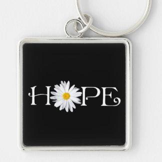 Shasta Daisy Hope Keychain