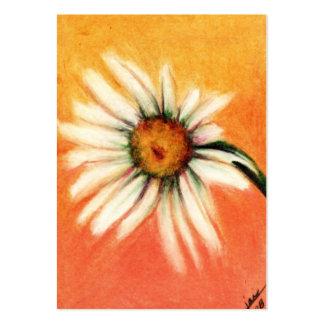 Shasta Daisy IV ACEO Art Trading Cards Business Card