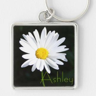 Shasta Daisy Keychain with Name
