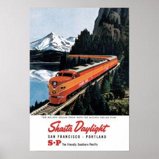 Shasta Daylight Poster