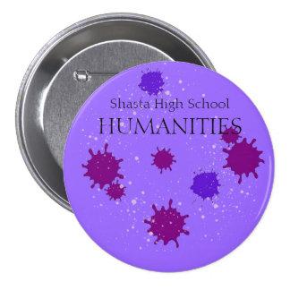 Shasta High School Humanities 7.5 Cm Round Badge