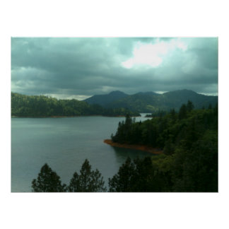 Shasta Lake Print 1