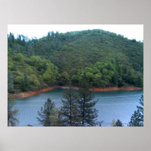 Shasta Lake Print 2