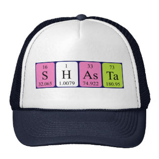 Shasta periodic table name hat