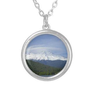 Shasta Round Pendant Necklace