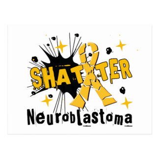 Shatter Neuroblastoma Postcard