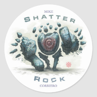 Shatter Rock Sticker