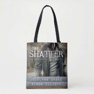 Shatter tote bag