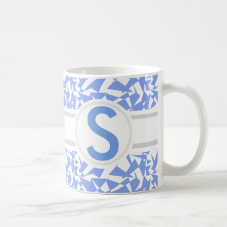 Shattered Blue Coffee Mug