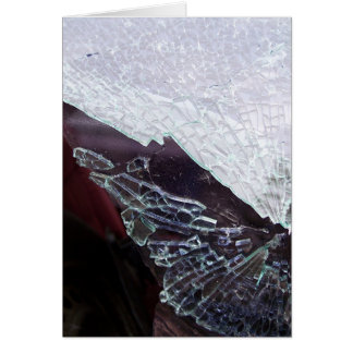shattered card