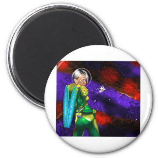 Shattered Flowers 6 Cm Round Magnet