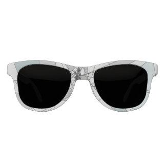 Shattered frame sunglasses
