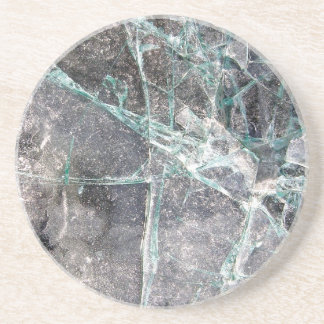 Shattered Glass Drink Coasters