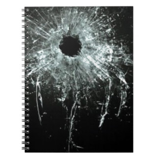 Shattered Spiral Note Book