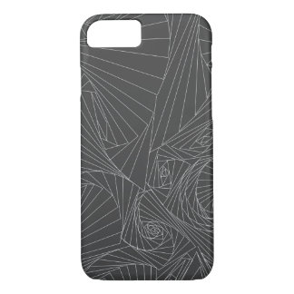 Shattered Spirals iPhone 8/7 Case