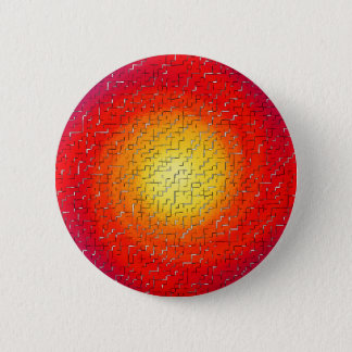 Shattered Star 6 Cm Round Badge