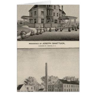 Shattuck residence, McLane Mills Card