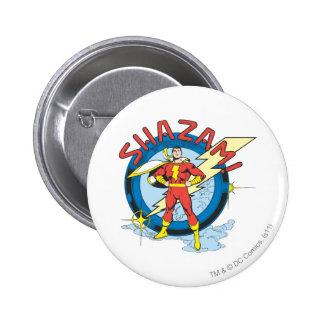 Shazam 6 Cm Round Badge