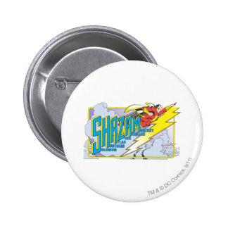 Shazam Acronym 2 6 Cm Round Badge