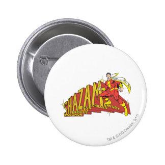 Shazam Acronym 6 Cm Round Badge