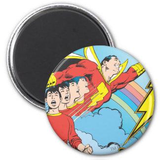 SHAZAM/Billy Batson 6 Cm Round Magnet