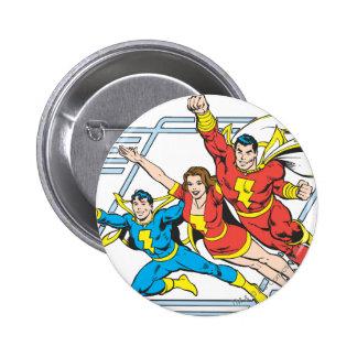 SHAZAM Family 6 Cm Round Badge