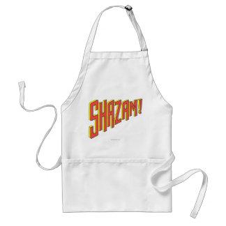 Shazam Logo Red/Yellow Standard Apron