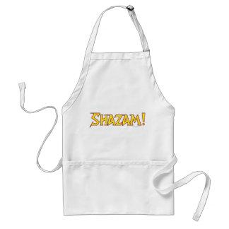 Shazam Logo Yellow/Red Standard Apron