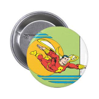 SHAZAM Soars 6 Cm Round Badge