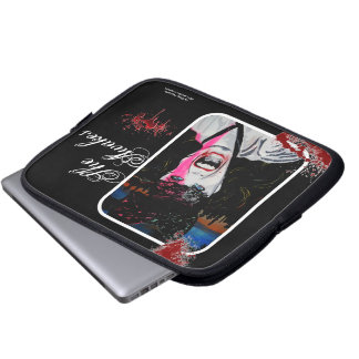 'She Awakes' Vampire Laptop/  Electronics Bag