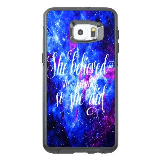 She Believed in Lover's Dream OtterBox Samsung Galaxy S6 Edge Plus Case