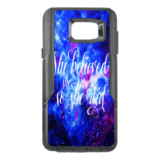 She Believed in Lover's Dream OtterBox Samsung Note 5 Case