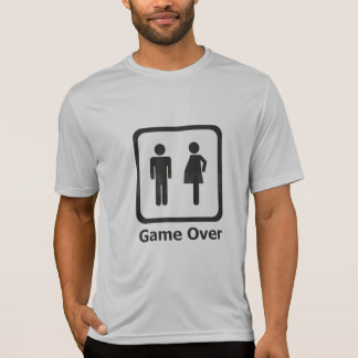 She is pregnant - Game Over Tees