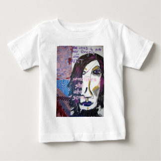 She Loved to Put Her Fingers in the Paint, 2004 Baby T-Shirt