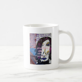She Loved to Put Her Fingers in the Paint, 2004 Basic White Mug