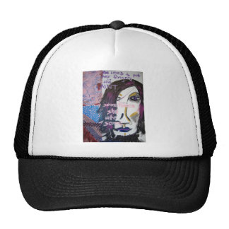 She Loved to Put Her Fingers in the Paint, 2004 Mesh Hat
