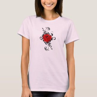 She Luv's Sweet Rose Swirls T-Shirt