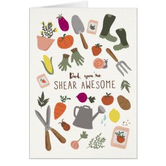 Shear Awesome Dad Card